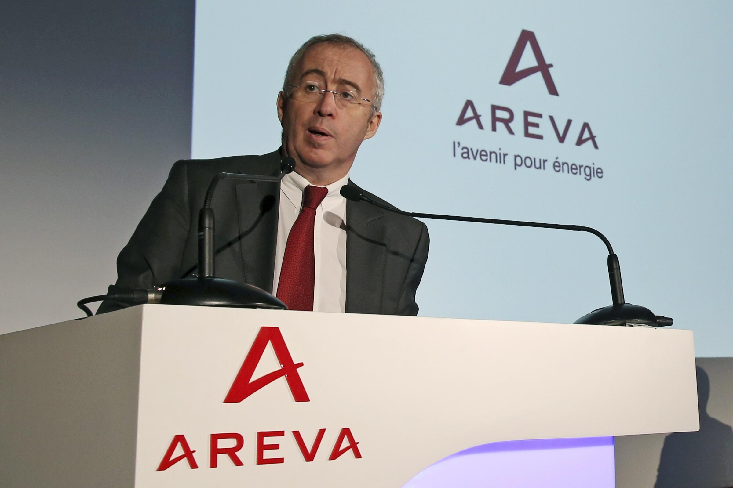 Areva boss Luc Oursel met Niger's President  Mahamadou Issoufou on Friday