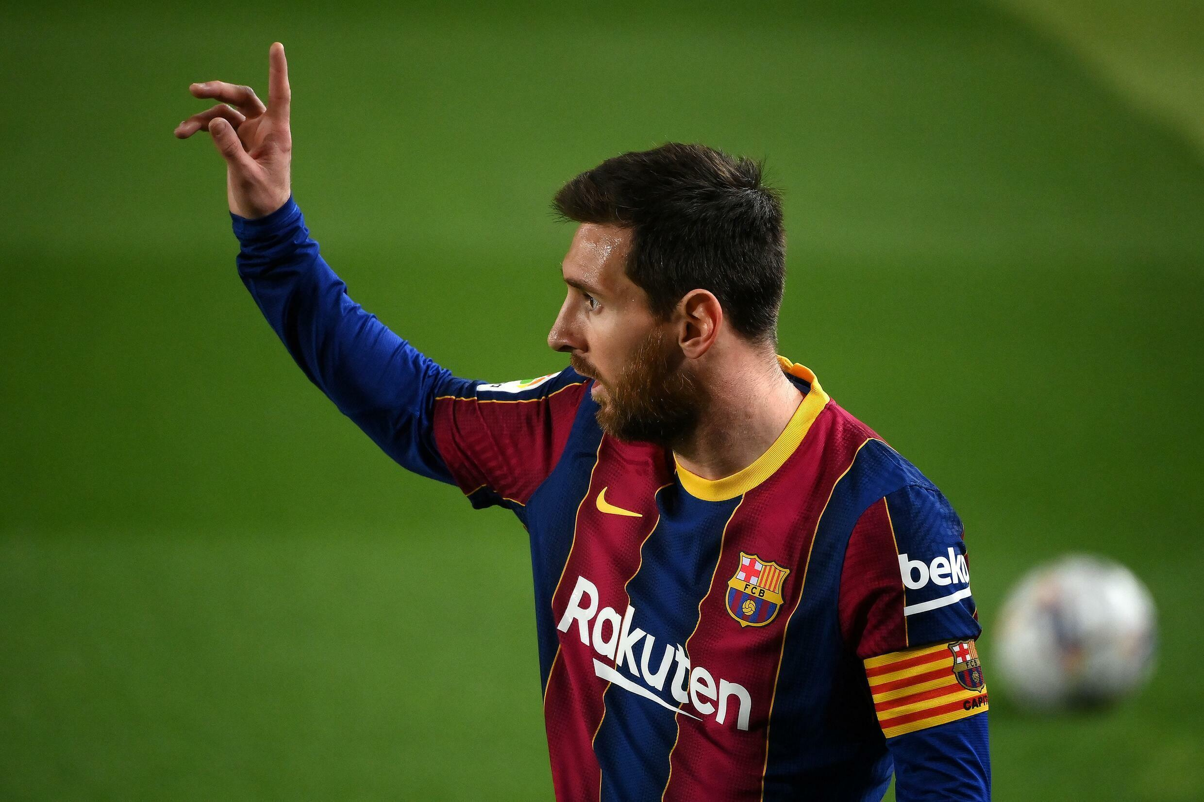 Lionel Messi is leaving Barcelona, club president Joan Laporta said in a press conference on Friday.