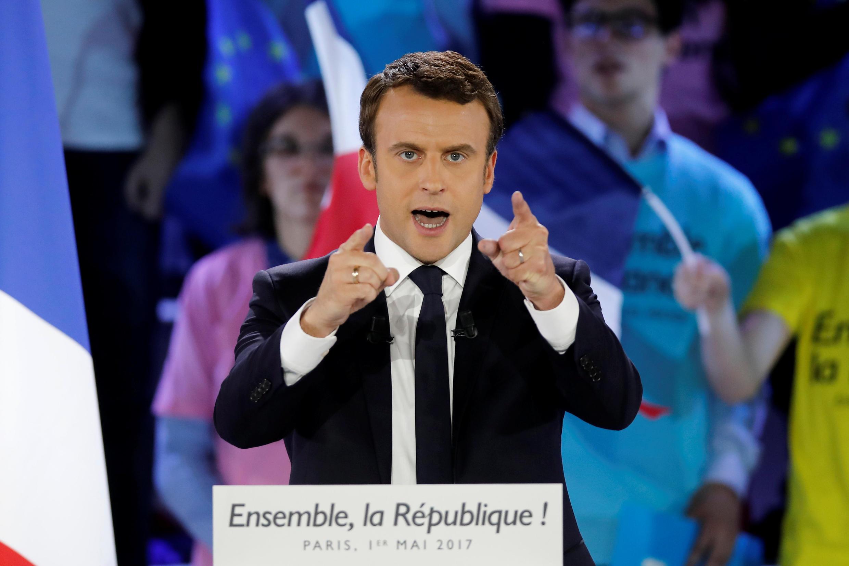 Rais mpya wa Ufaransa, Emmanuel Macron