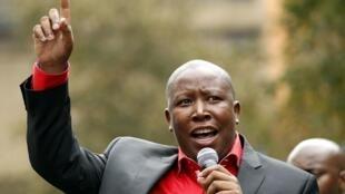 Kiongozi wa Umoja wa Vijana wa chama tawala cha ANC cha Afrika Kusini, Julius Malema