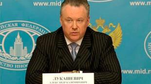 俄羅斯外交部發言人Alexandre Loukachevitch