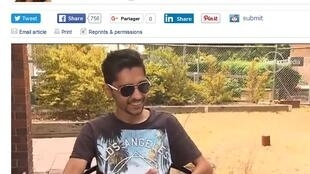 Hassan Asif est venu en Australie pour étudier avant d'apprendre qu'il souffrait d'un cancer en phase terminale.