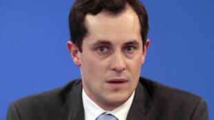 Nicolas Bay, secrétaire général du Front national.