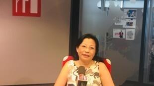 Cô Nguyễn Tôn Nữ Hoàng Mai trả lời phỏng vấn của RFI Việt ngữ ngày 12/07/2019.