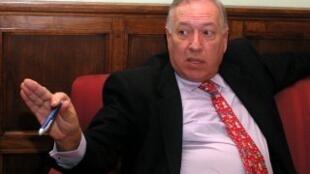 លោក José Manuel García-Margallo រដ្ឋមន្ត្រីក្រសួងការបរទេសអេស្ប៉ាញ