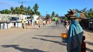 Macomia, dans la province de Cabo Delgado, dans le nord du Mozambique, en juin 2018.