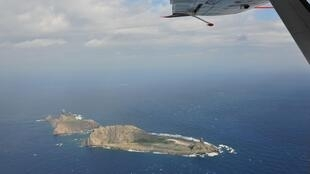 Quần đảo Senkaku/Điếu Ngư, ảnh chụp từ trên không ngày 13/12/2012.