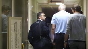 A FIA abriu uma investigação sobre as circunstâncias do acidente com Jules Bianchi. Na foto o Médico da F1, Dr. Ian Roberts, ao lado de John Booth e Graeme Lowdon.