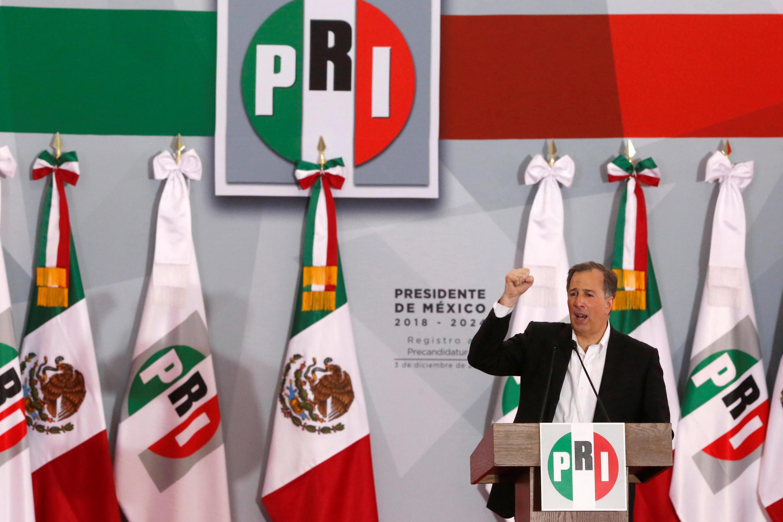 Jose Antonio Mead, candidat à l'élection présidentielle de 2018 pour le parti au pouvoir, le PRI.