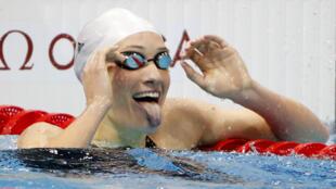 Камий Мюффа после своей первой олимпийской победы