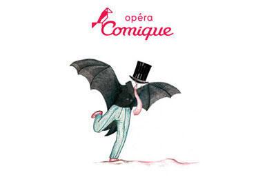 La Chauve Souris de Johann Strauss mise en scène d'Ivan Alexandre.