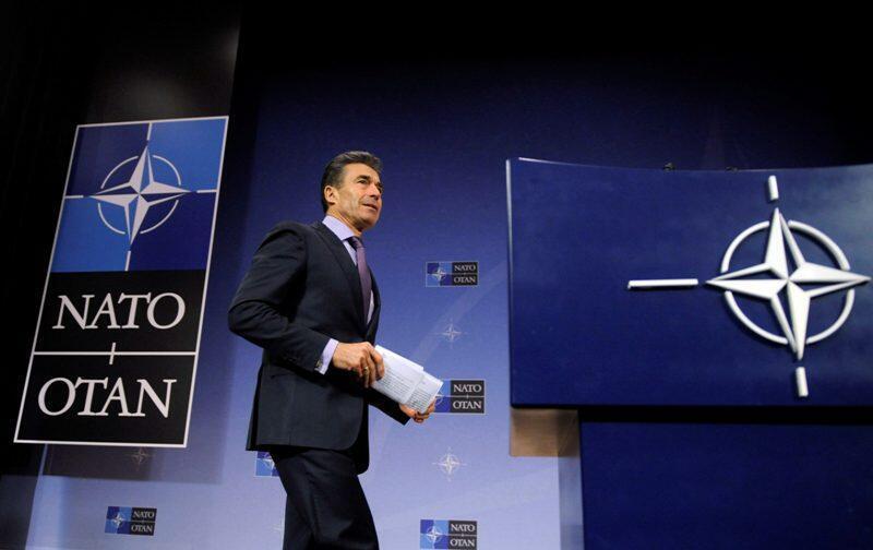 Tổng thư ký Liên Minh Bắc Đại Tây Dương (NATO) Anders Fogh Rasmussen - Reuters