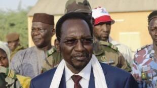 Le président par intérim Dioncounda Traoré, le 13 avril 2013 à Nara.