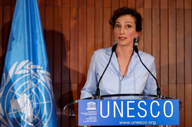 法国前文化部长奥黛丽∙阿祖莱当选新任教科文总干事。2017-10-13