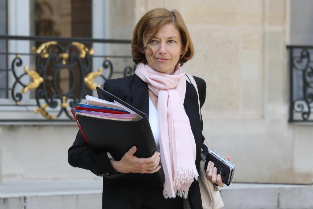 La ministre des Armées, Florence Parly, le 23 mai à Paris.