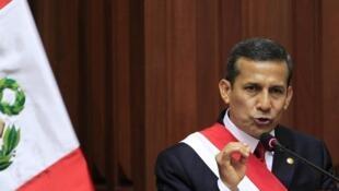Seuls 21% des Péruviens approuveraient la gestion du président Humala.