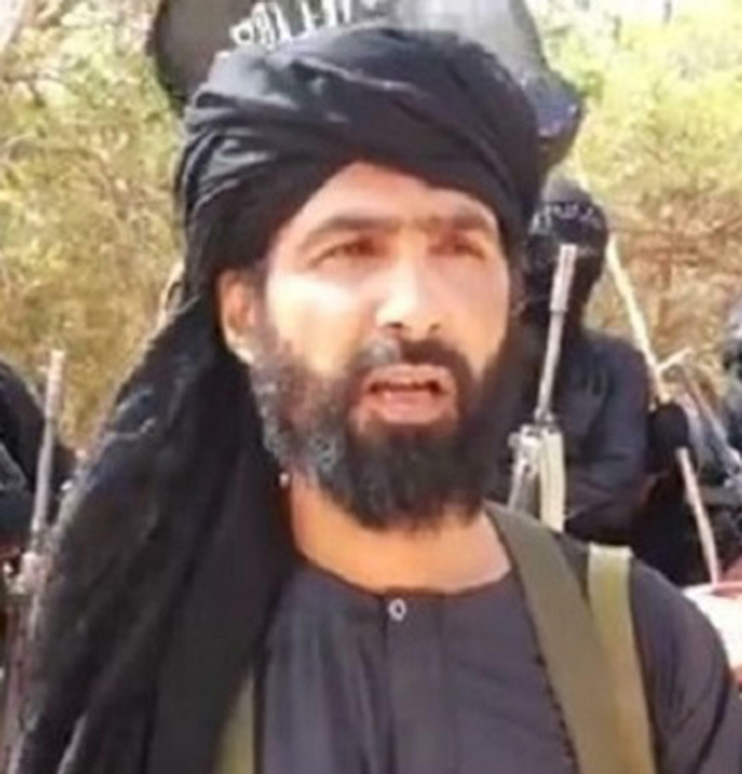 El líder yihadista del sahel Adnan Abu Walid al Sahraoui, en una imagen de archivo