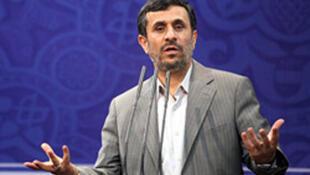 លោកប្រធានាធិបតីអ៊ីរ៉ង់ Mahmoud Ahmadinejad