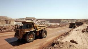 La mine d'Arlit (ici en 2005) a été la cible de l'une des deux attaques revendiquées par le Mujao, jeudi 23 mai.