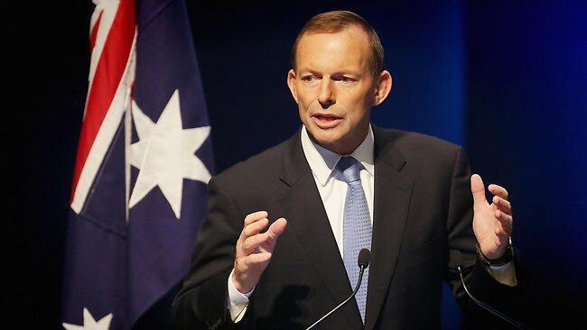 លោកTony Abbott នាយករដ្ឋមន្ត្រីអូស្ត្រាលី