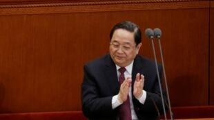 Ông Lệnh Kế Hoạch trong một cuộc họp Hội nghị Chính hiệp tại Bắc Kinh.