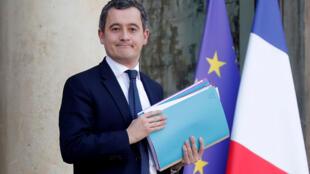 Gérald Darmanin, le nouveau ministre de l'Intérieur. Ici, à l'Élysée le 24 janvier 2020, lorsqu'il était ministre des Comptes publics.