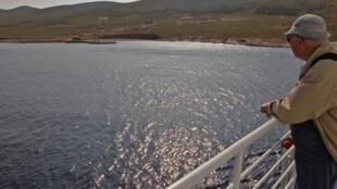 Retour sur l'île de Makronissos.