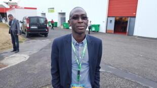 Malick Gueye, représentant du Salon international des productions animales – carrefour européen (SPACE) pour l'Afrique de l'Ouest.