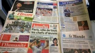 Diários franceses 20/10/2014
