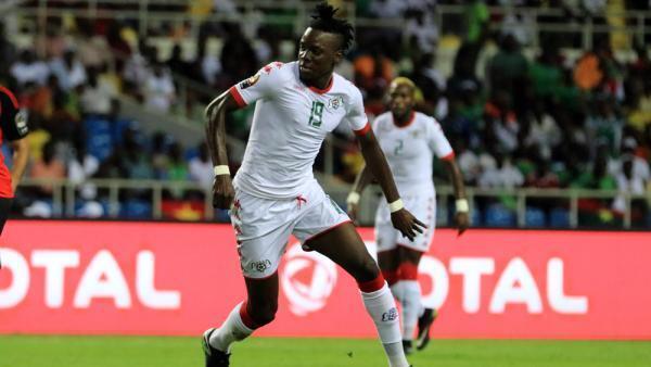 Le Burkinabè Bertrand Traoré durant la CAN 2017.