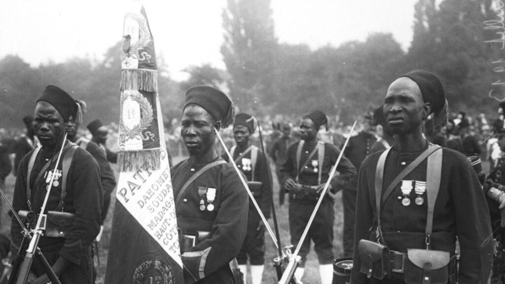 [Dossier spécial] 1914-1918: les tirailleurs dans la Grande Guerre