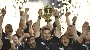 Algeria's players are targeting participation in the 2019 rugby World Cup. Richie McCaw skippered New Zealand to the 2015 title.