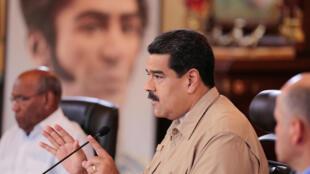 O presidente venezuelano Nicolás Maduro ainda não se pronunciou sobre decisão do Mercosul.