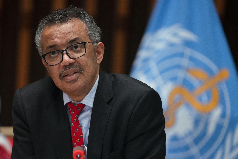 Le directeur général de l'OMS Tedros Adhanom Ghebreyesus.