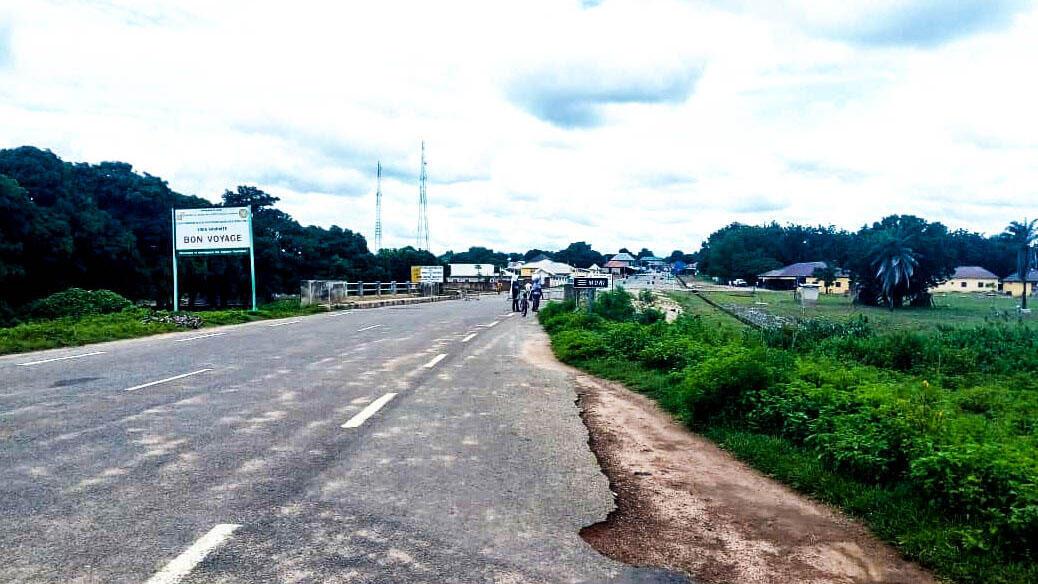 A la frontière entre le Bénin et le Nigéria, à Nikki, côté Bénin