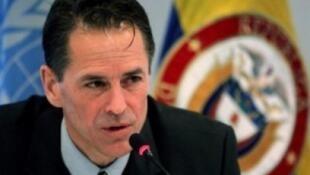 Todd Howland, Alto Comisionado de los Derechos Humanos (ONU) en Colombia. Imagen de archivo.