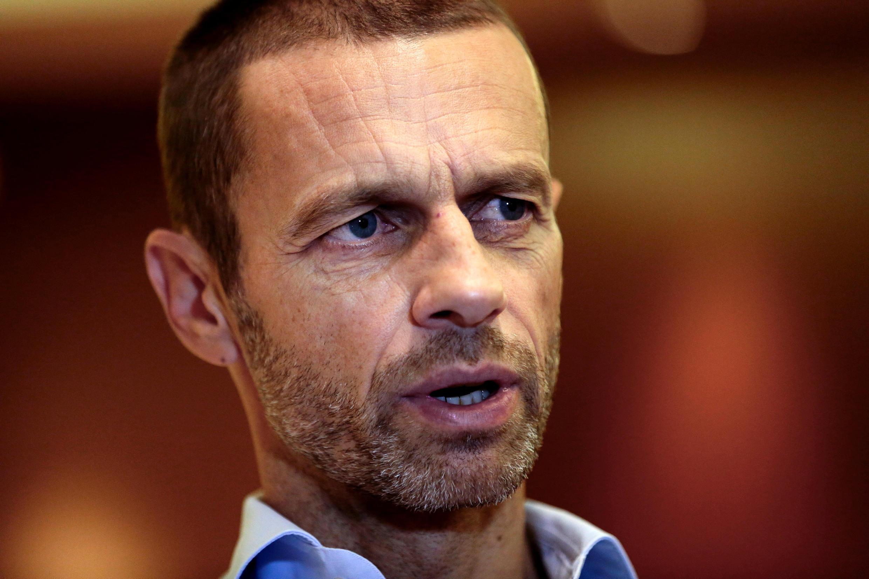 Shugaban hukumar kula da kwallon kafa ta UEFA, Aleksander Ceferin.