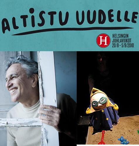 Festival de Helsinki, Finlândia do dia 20 de agosto a 5 de setembro com presença brasileira.