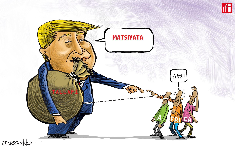 Shugaban Amurka Donald Trump ya yi amfani da kalaman kaskanci kan Afrika. (18/01/2018)