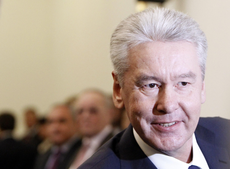 Le nouveau maire de Moscou, Sergueï Sobianine, 18 octobre 2010.