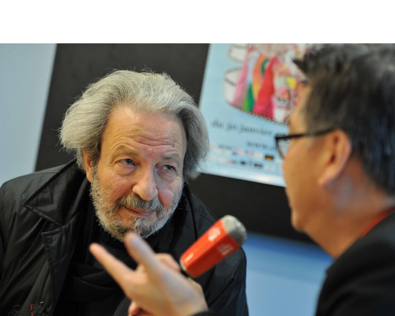 Đạo diễn Syria Mohamed Malas trả lời phỏng vấn RFI Việt ngữ tại Liên hoan Vesoul 2018.
