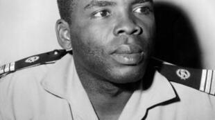 Photographie de Marien Ngouabi, prise à Brazzaville le 23 mars 1970.