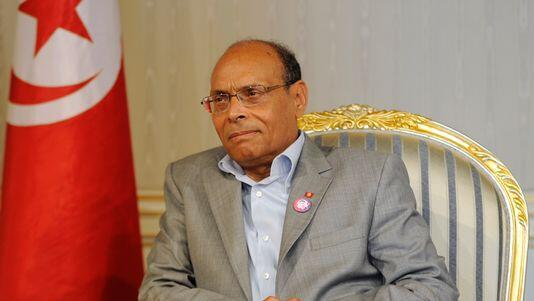 Moncef Morzouki, le président de la Tunisie