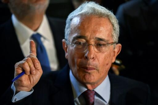 Alvaro Uribe was Colombia president from 2002 to 2010 and is currently serving a second term as senator