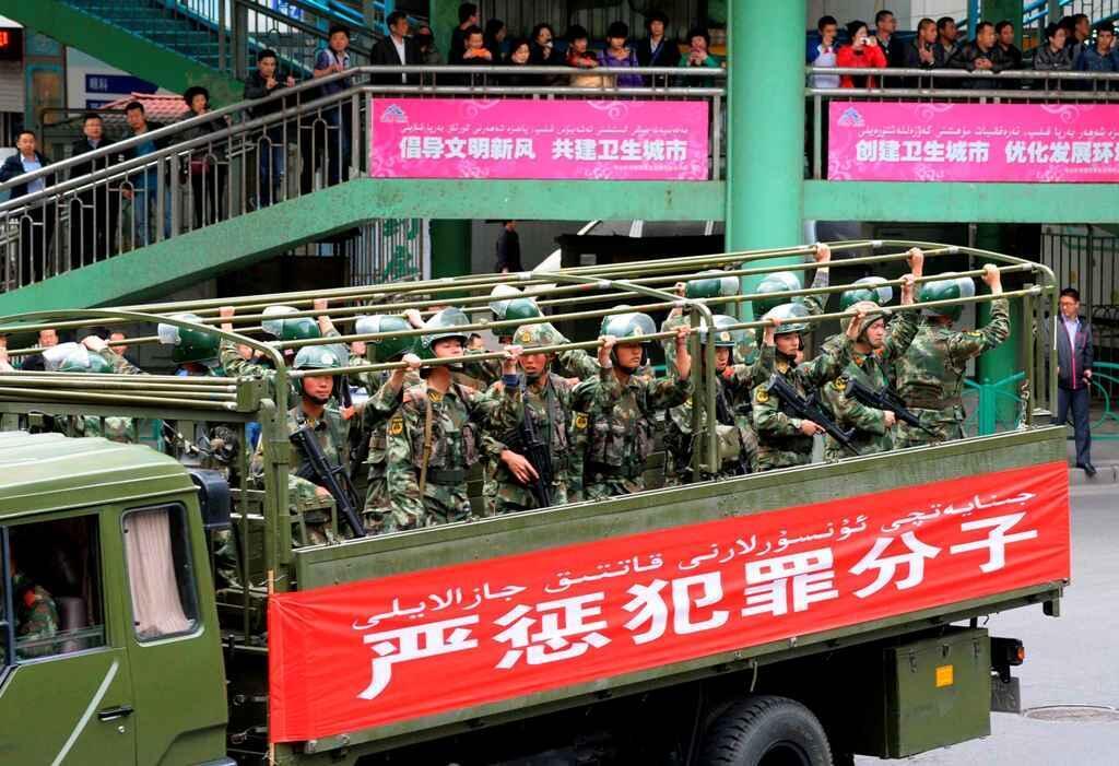 Bắc Kinh huy động binh lính, mở chiến dịch trấn áp khủng bố 27/05/2014 - Reuters /Kyodo