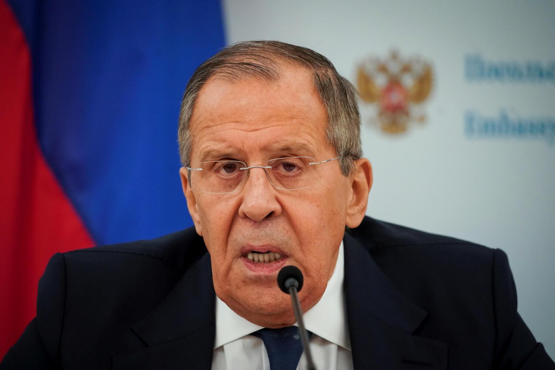 俄羅斯外長拉夫羅夫資料圖片