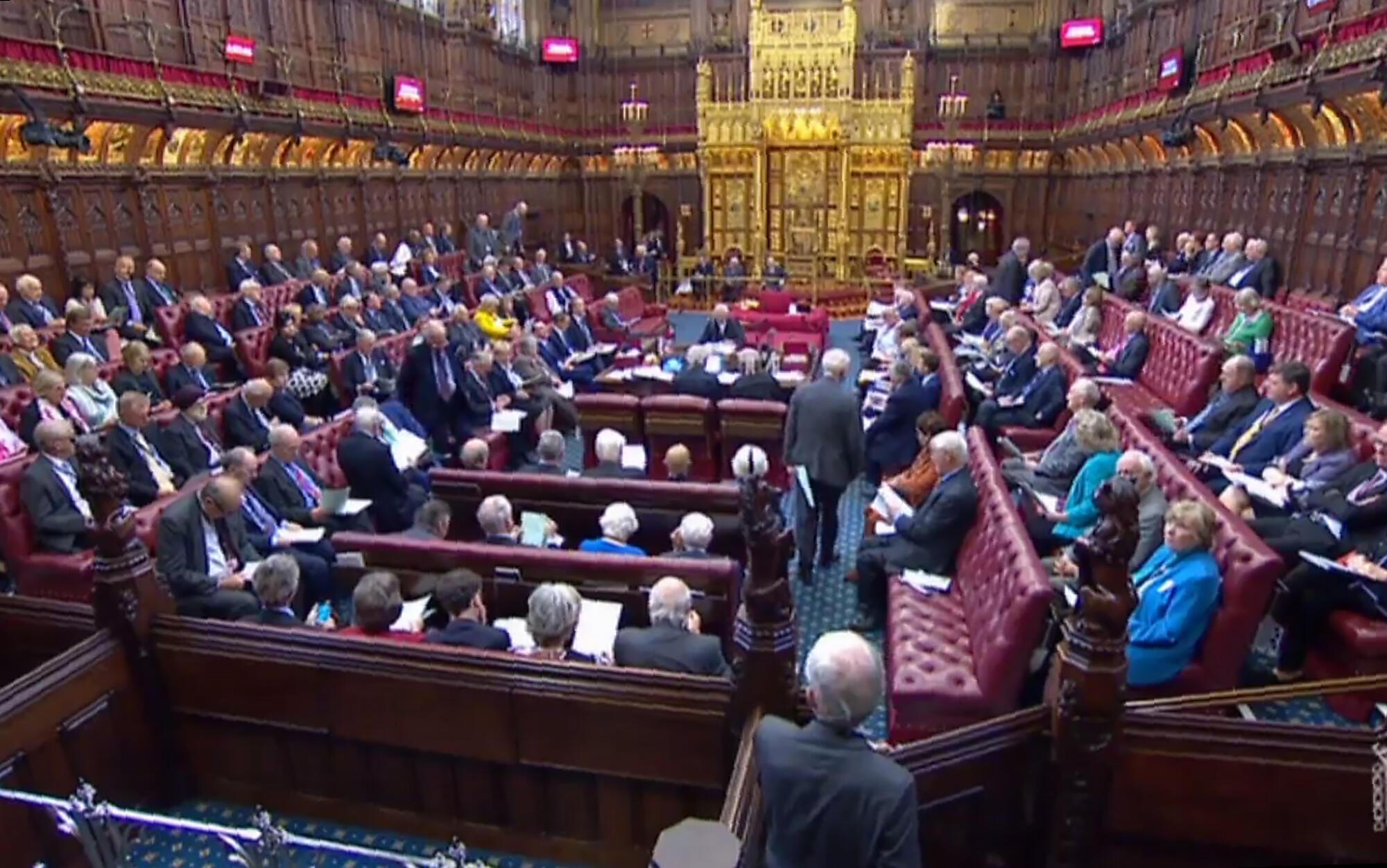 Nghị Viện Anh liên tục bị hồ sơ Brexit khuấy động. Ảnh ngày 06/09/2019
