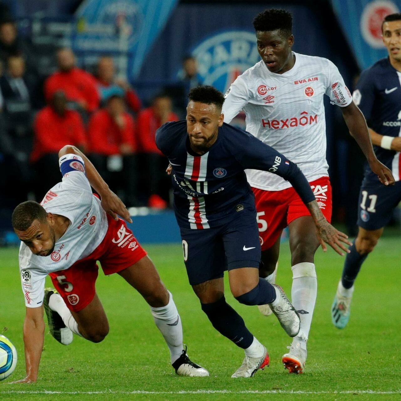 Injury-hit PSG slump to shock home defeat by Reims