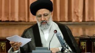 ابراهیم رئیسی رئیس قوۀ قضائیه جمهوری اسلامی ایران.