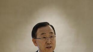 Ban Ki-moon a seulement appelé la Syrie et Israël à la retenue.